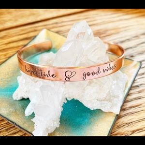 🆕 High Tide and Good Vibes Cuff Bracelet